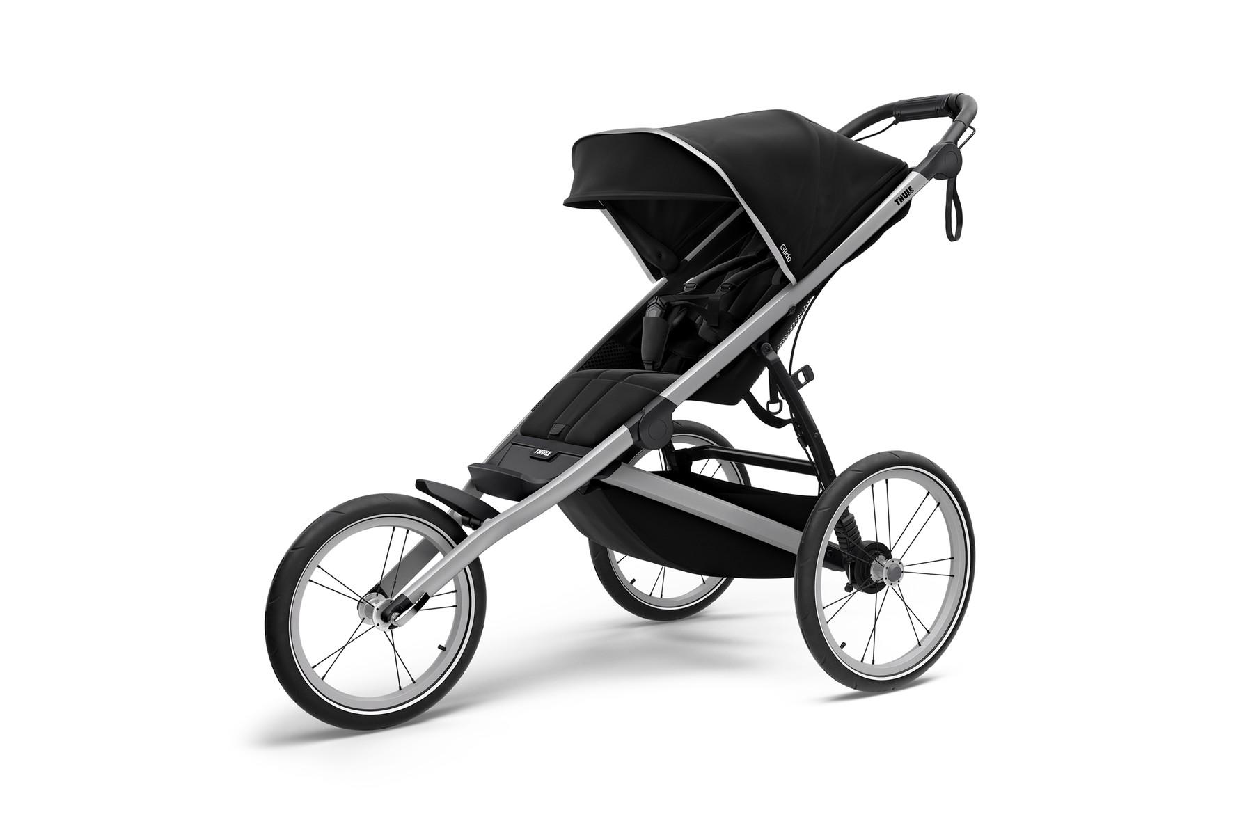 Thule Glide 2 Einsitzer Jogging Buggy Black 2021