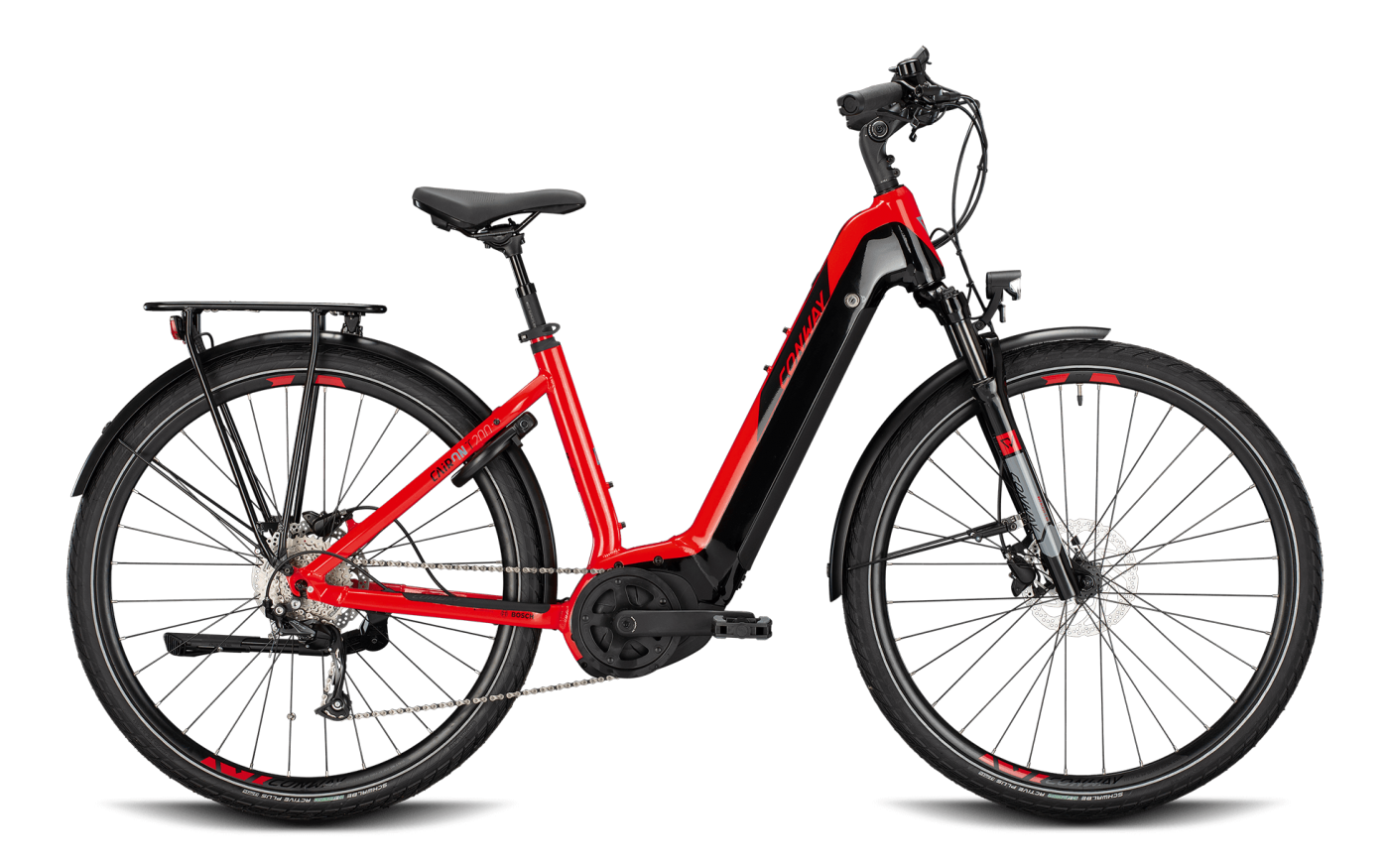 CONWAY CAIRON T200 Wave 625Wh red-black 2021