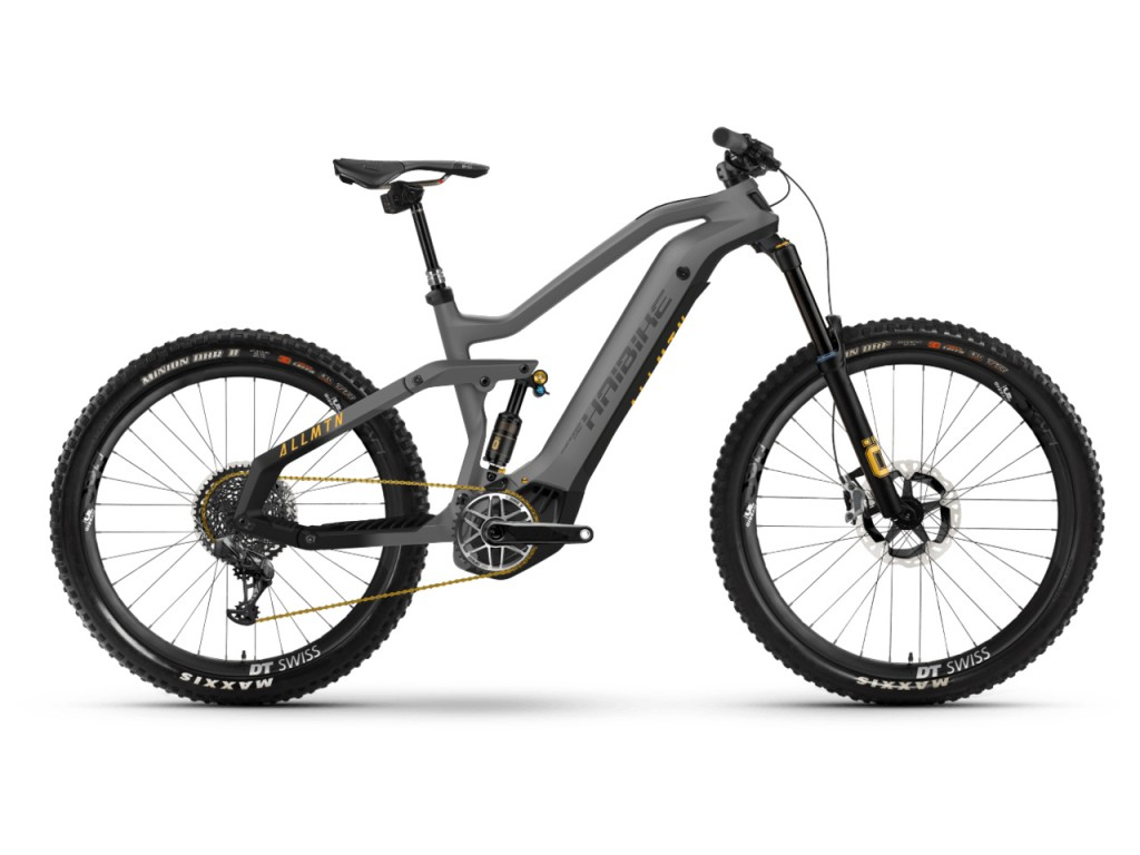 HAIBIKE ALLMTN SE 600Wh titan-black 2021