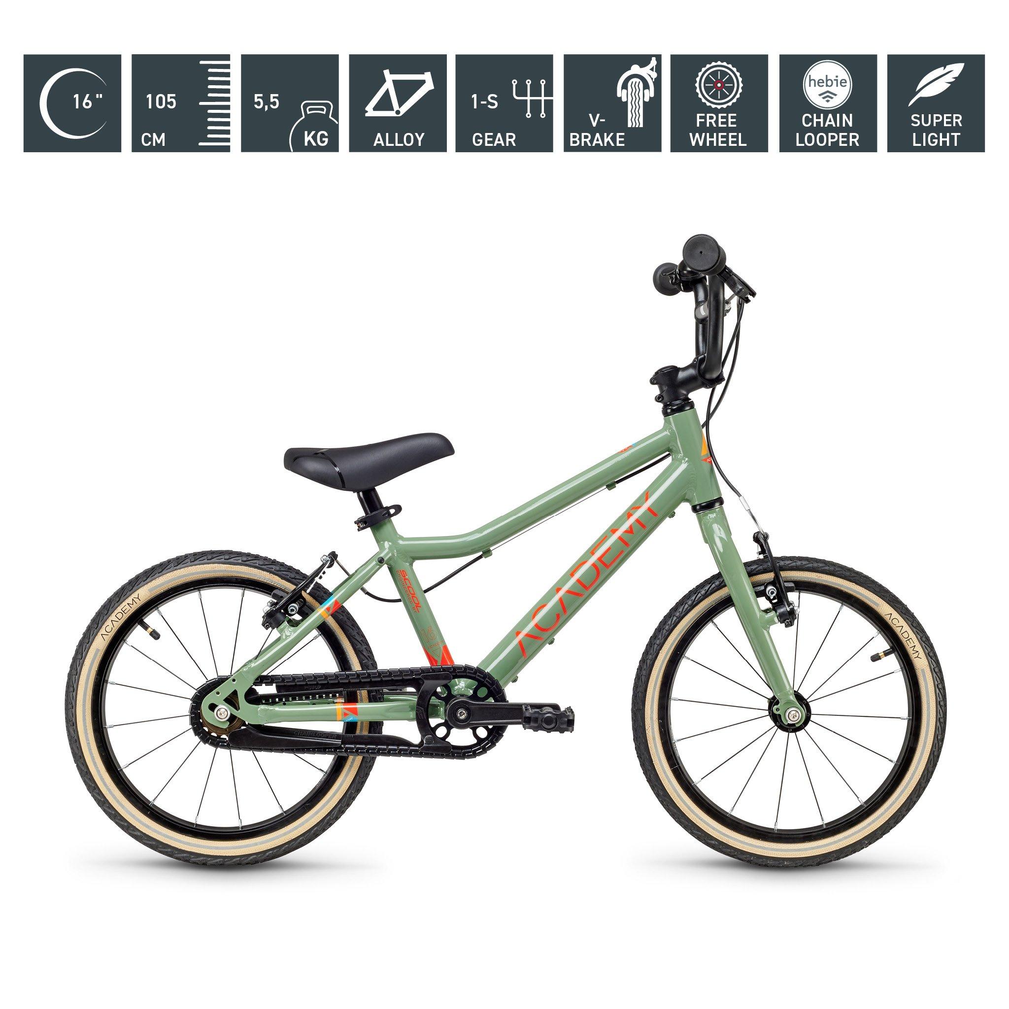 S`COOL  ACADEMY 16 Zoll - Grade 3 - 1-Gang - grün