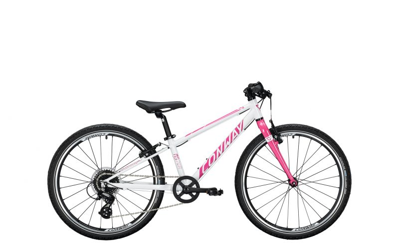 Conway MS 240 Diamant 24 Zoll, 8-Gang White-Pink