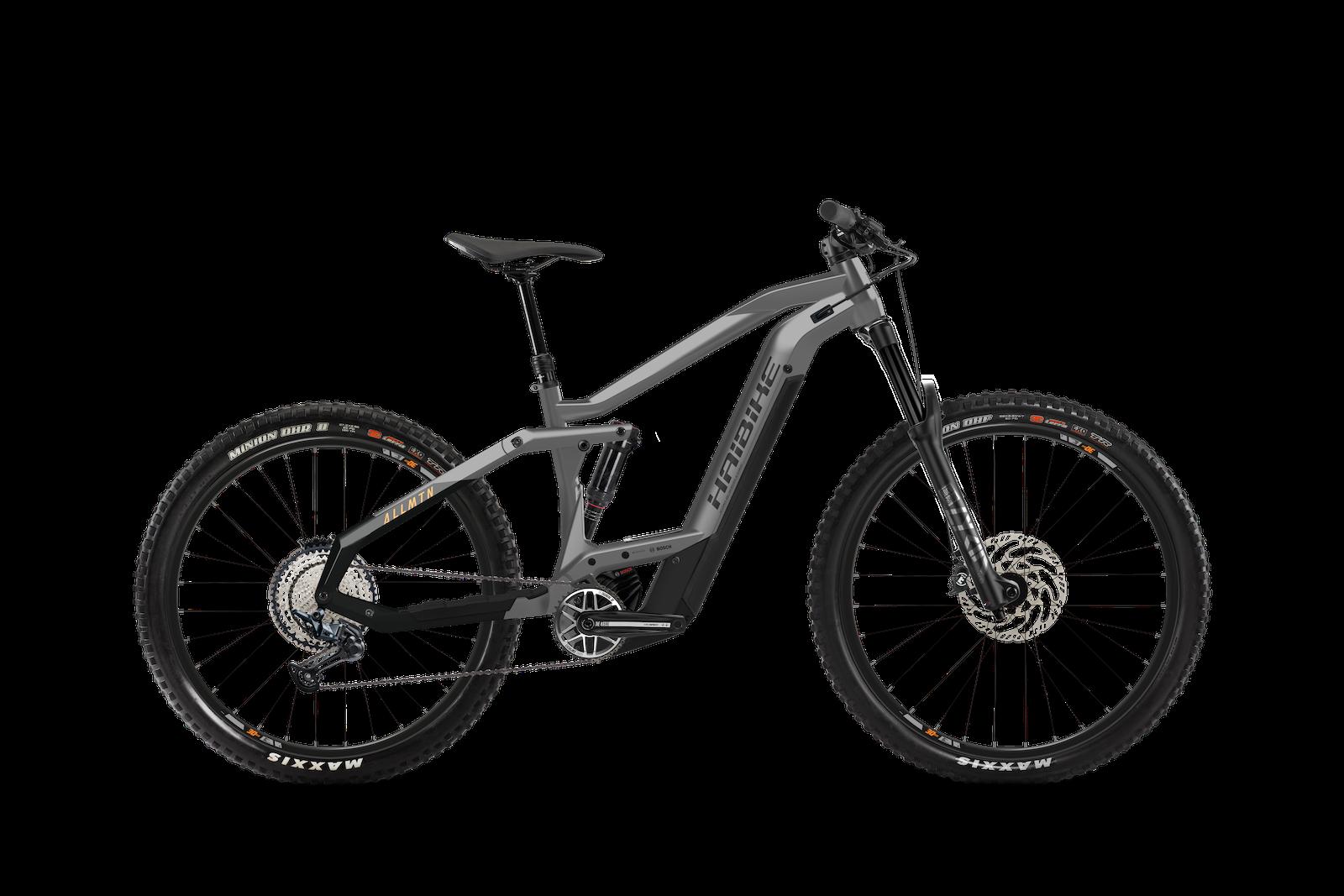 HAIBIKE ALLMTN 4 625Wh grey-black 2021