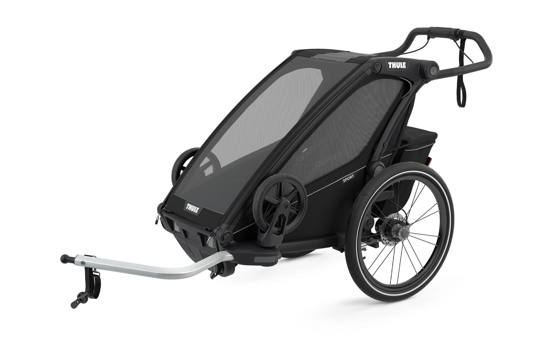 Thule Chariot Sport 1 midnight-black 2021
