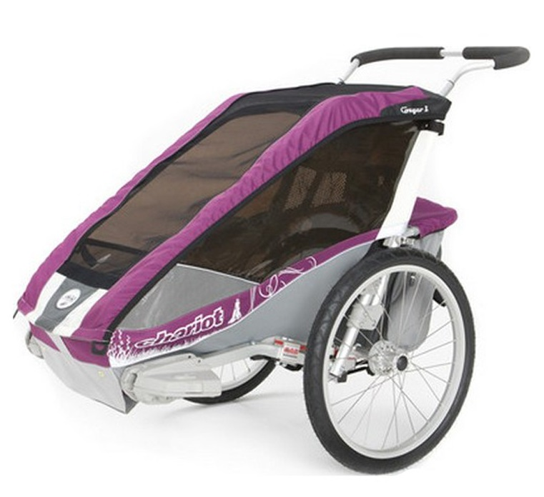 Thule Chariot Cougar 1 Limited Edition Purple
